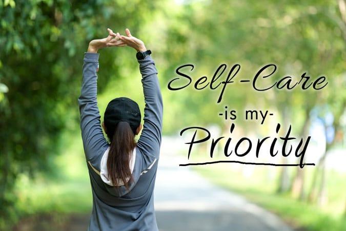 prioritize self-care